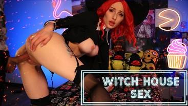 Horny Witch Slut Halloween Punishment Full
