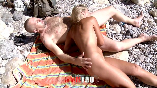 Tacara nude Trailer of a hot threesome with amazing french blond milf , tamara val