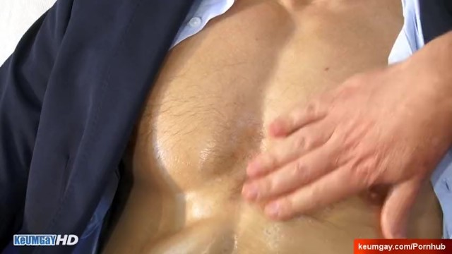 The saleman scene gay - Salesman in suit trousers gets wanked his huge cock by a guy alexk