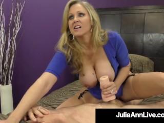 Domnatng Cougar Ms Jula Ann Orders No Cum From Cock Julia Ann