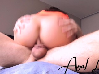 I RIDE A TINDER VIRGIN COCK TO HAVE AN ANAL ORGASM – Anal lover 4K
