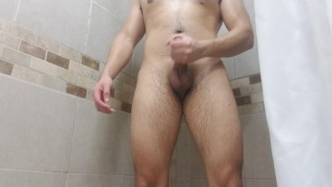 Jerking Off While My Friend Waits For Me