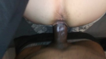 Give me that BBC oral interracial creampie
