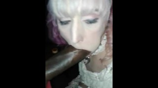 Ts Bunny White transsexual southern belle choked bbc deepthroat interacial