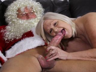 LACEYSTARR Saw Granny Fu Santa Claus Lacey Starr