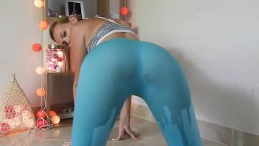 Mint Green Pants Wetting/Desperation (PREVIEW)