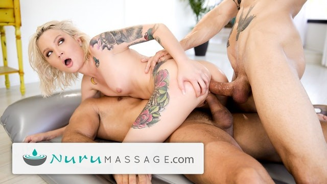 One hour orgasm and book Nurumassage dakota skye double booked and must dp
