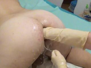 Hartes femdom Punchfisting von Schwester Sandra