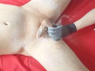 Tutoral Bkn Brazlan pens balls sugar wax