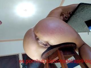 ANAL CREAMPIE POR FAVOR DADDY 1,SEMEN EN MI CULO -APRIL BIGASS- 1080P 60F