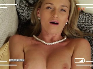 Very XMAS PRESENT from your STEPMOTHER Home sex tape Kathia Nobili