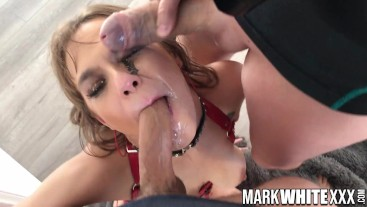 Cum Dumpster Sailor Luna gets her Face and Tits Fucked in Hardcore BTS