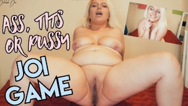 Tits, Ass & Pussy JOI Game