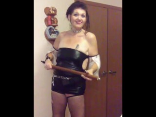 Mlf n Domme mood shows you some toys and sex games to play Part