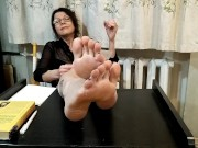 Teacher reads JOI from the Ministry of Masturbation rus.accent - OlgaNovem