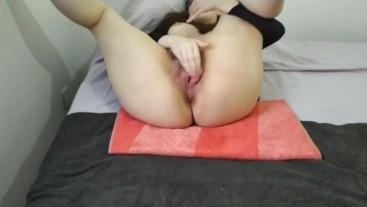 Masturbating till I cum hard