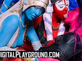 Dgtal Playground Alen Orgy n starwars porn parody Alessa Savage, Eva Lovia, Marc Rose