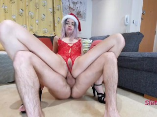 tmas anal Santas wfe fucked n her ass ATM
