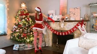 SANTA'S WAIFU CELEBRATES CHRISTMAS! – INDIGO WHITE