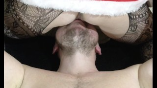 Anna got an orgasm sitting on his face