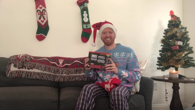 Lucky Guy Gets The Ultimate Christmas Present (A Present)