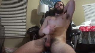 Free Xxx Tubes - Bearded-Guy Hung Hippy Guy Plays With His Cock And Blows A Huge Load On Himself (Vocal