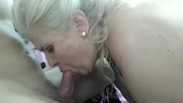BLOWJOB EDITION  big boobs mature woman sucking my cock