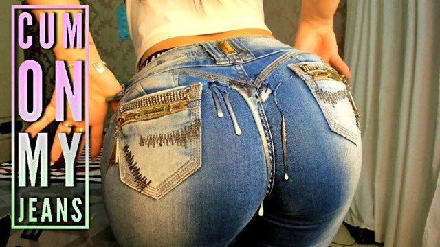 Jeans ass Hot latina tight jeans ass joi - cum on my jeans - big boobs big ass - joi