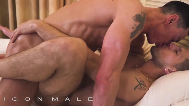 Free gay movie porn post - Iconmale - hunks gets a big load post massage