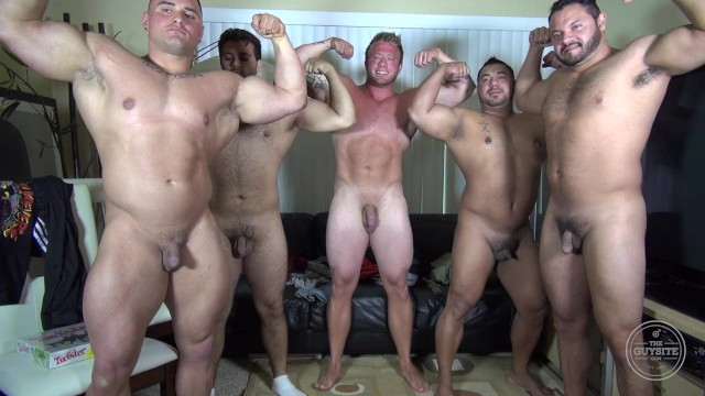 Gay site of amateur wrestling Naked party latino muscle bear house - amateur fun w/ aaron bruiser