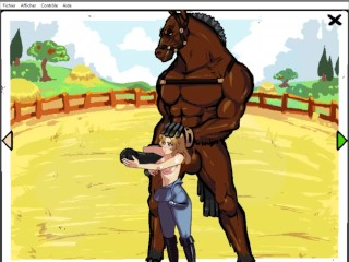 Breedng Season GAMEPLAY HENTA EP Fu a horse wth BBC