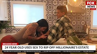 FCK News – Latina Uses Sex To Steal From A Millionaire