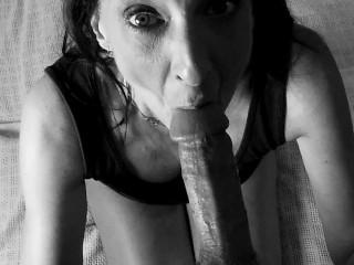 Hot Granny Bg Cock Suck Cum Swallow