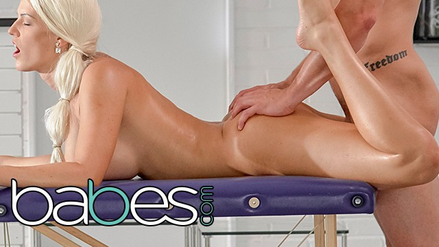 BABES - Blanche Bradburry gets a full service anal and massage