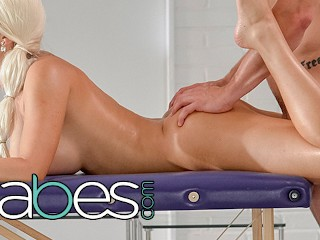 BABES Blanche Bradburry gets a full servce anal and massage Blanche Bradburry, Max Dior