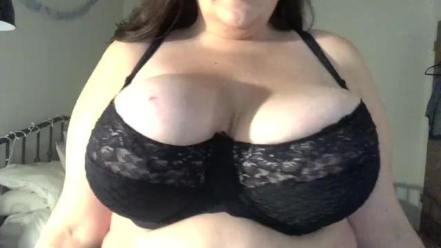Big tits small bras Busty bbw bra try on