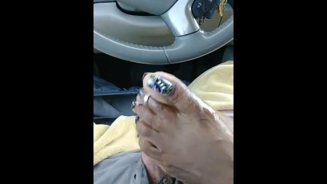 Adams cock cinnamon - Cinnamon spiccy car footjob