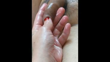 Ultra HD Flaccid Foreskin Fondling