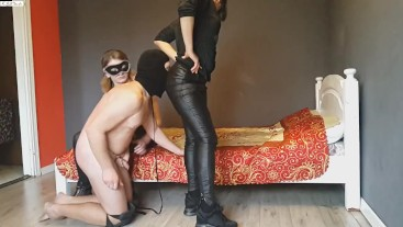 FFM session #13 Handjob and spanking
