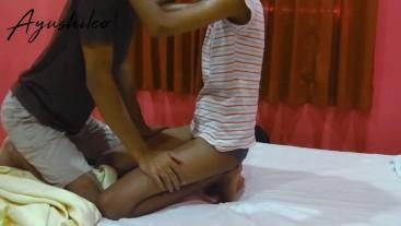 sri lankan school couple romantic leaked sex video අයේෂ නංගිගෙ චූටි කුක්කු