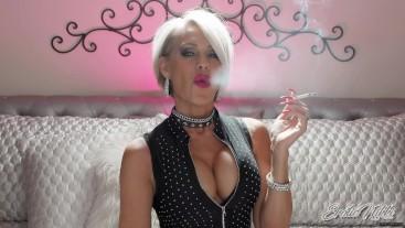 Busty Mature Smoker - Nikki Ashton