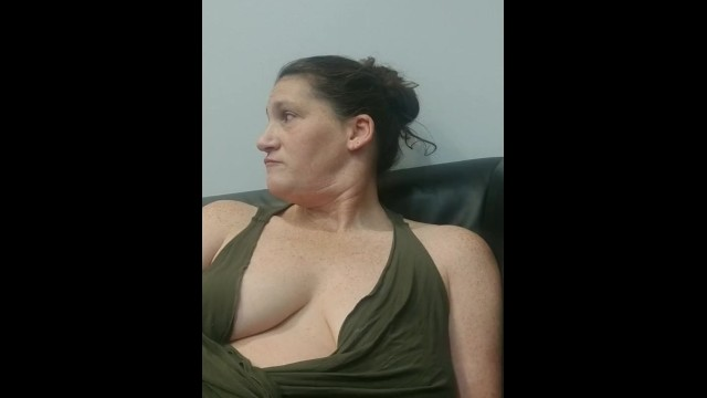Aerobisque pierceless clit jewelry My girls last boob flashing in a busy lobby before her new jewelry