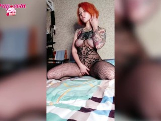 Young Tattooed Teen n Sexy Dresses Da and Ge Excted