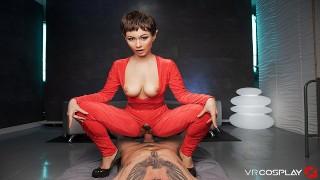 VRCosplayX STAR TREK A XXX Helps You Exploring T'pol's Pussy