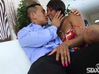 Ebony hotte man Rose s always down to fuck Imani Rose