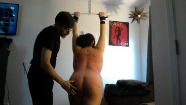 Much needed flogging and spanking for Danica