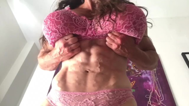 6 pack abs hairy Veiny abs to lick
