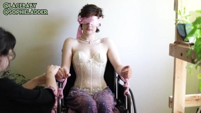 Ladders for midgets - Bts lesbian wheelchair bondage w/ sophie ladder