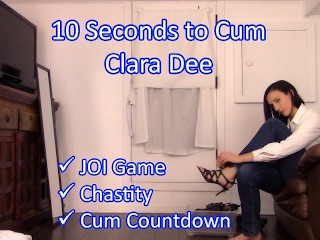 Clara Dee Cha Games Seconds to Cum Red Green JO