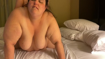 A Rough and Sticky Fuck (POV and Wide Shot)